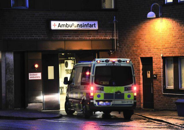 Ambulance en Suède (image d'illustration)