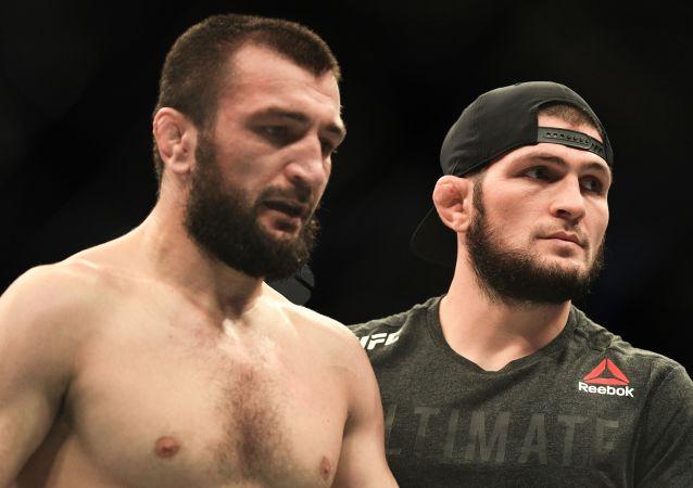 Abubakar Nurmagomedov et Khabib Nurmagomedov