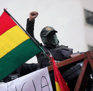 Protestations en Bolivie (photo d'archives)