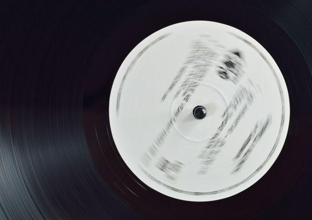 Disque vinyle (image d'illsutration)