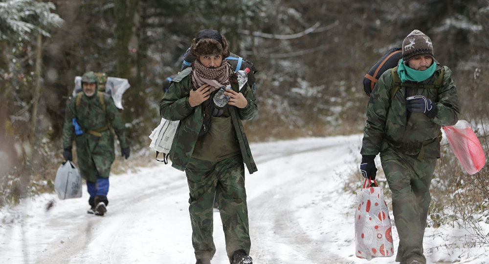 Des migrants en Bosnie-Herzégovine
