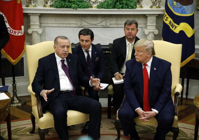 Recep Tayyip Erdogan et Donald Trump