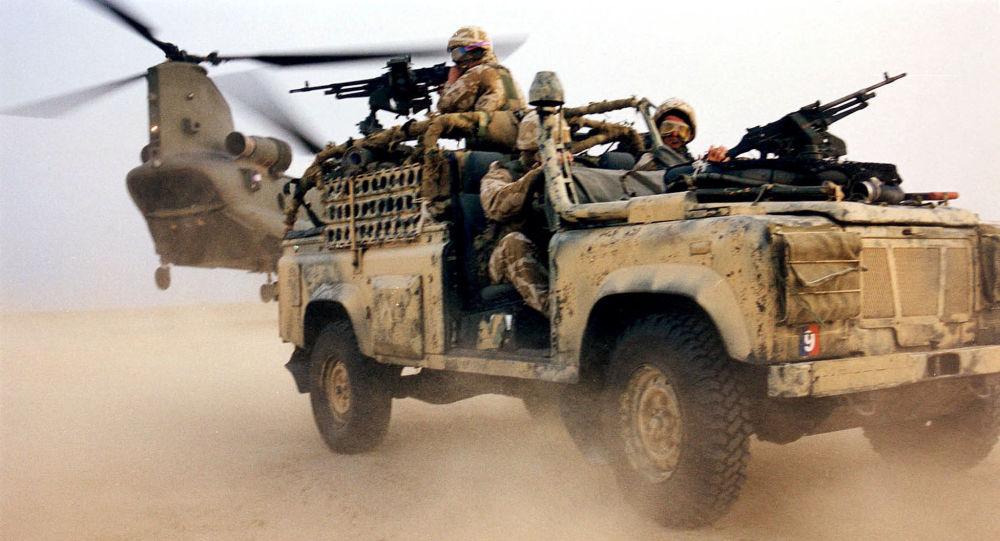 Armée britannique en Irak
