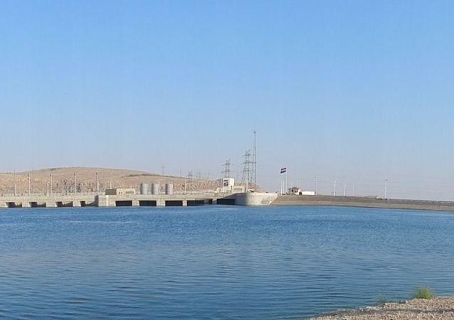 La centrale hydroélectrique de Tichrine