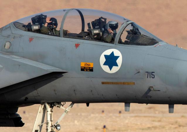 Un F-15 de la Force aérienne israélienne
