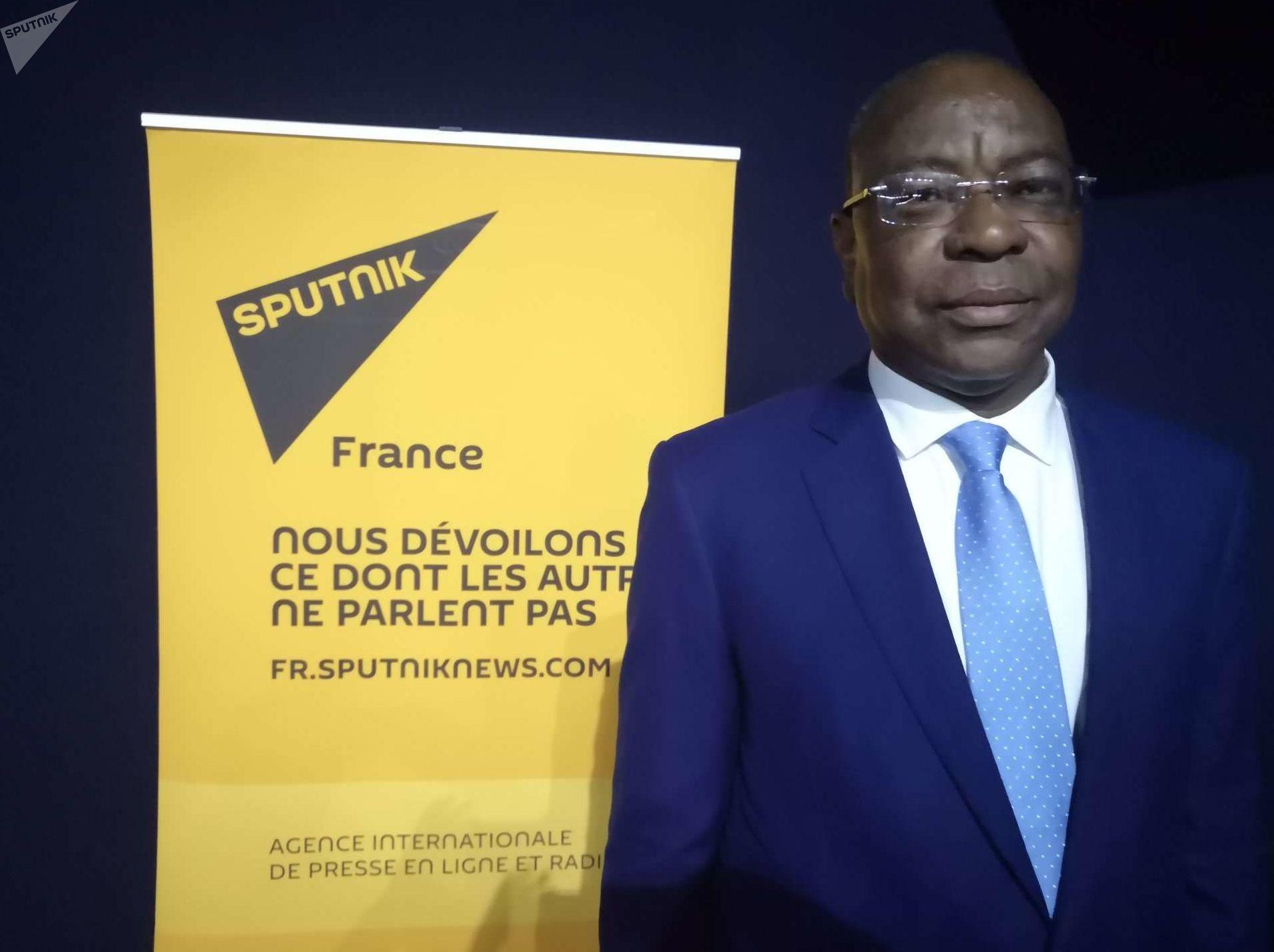 Mankeur Nidaye, représentant spécial du Secrétaire général des Nations unies pour la République centrafricaine, au Forum MEDays à Tanger, le 16 novembre 2019