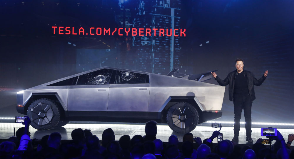 Elon Musk présente le pick-up Cybertruck de Tesla