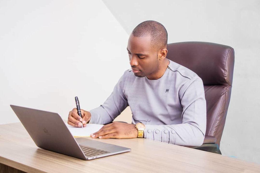 Claudel Noubissie, promoteur de la Start-up Academy.