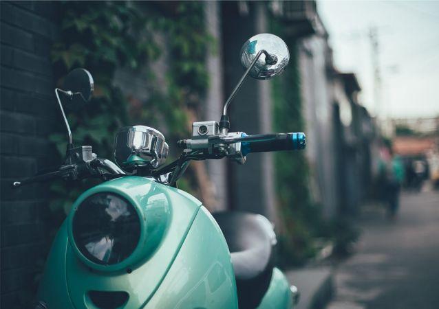 Moto (image d'illustration)