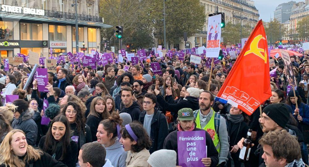 #NousToutes: les femmes réunies à Paris contre les violences sexuelles et sexistes, le 23 novembre 2019