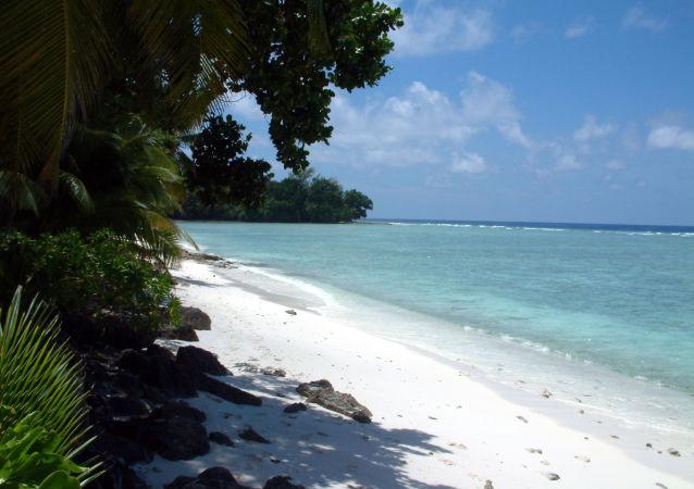 Diego Garcia, l'île principale de l'archipel des Chagos