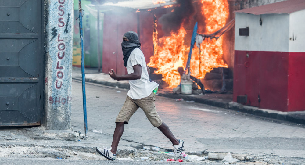 Émeutes à Haïti