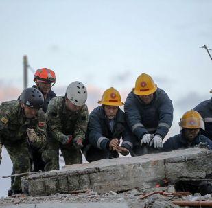 Un violent séisme en Albanie