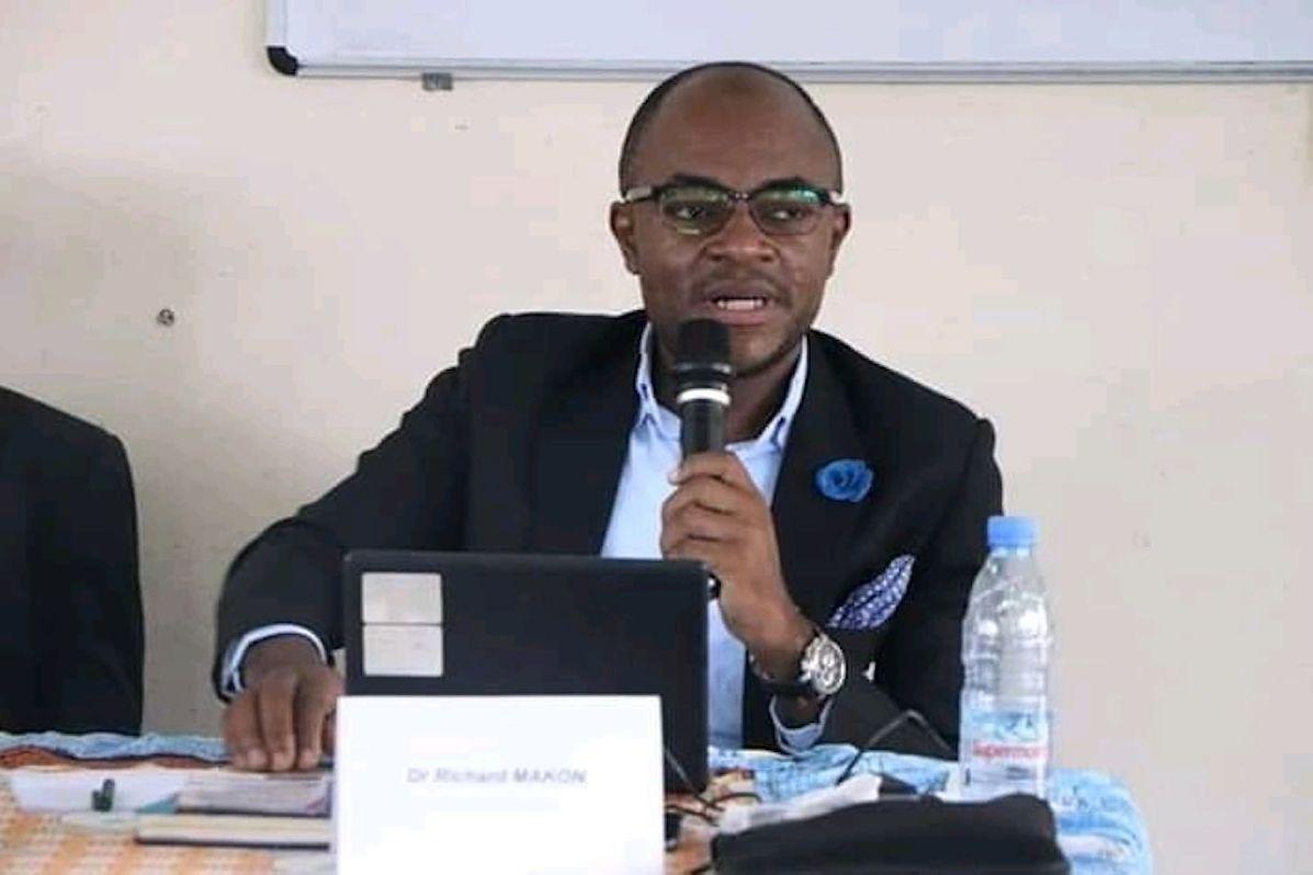 Richard Makon, politologue camerounais