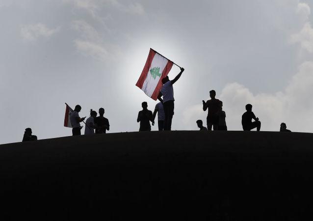 Manifestations antigouvernementales au Liban