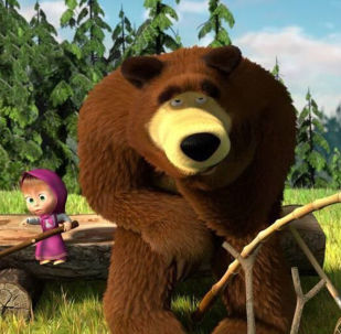 Image du dessin animé Masha et Michka