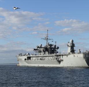 Un navire de la marine américaine
