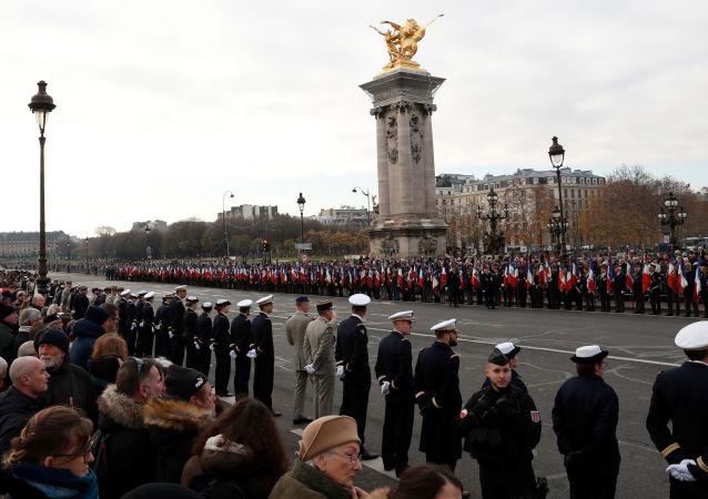 Hommage national aux militaires français morts au Mali, le 2 décembre