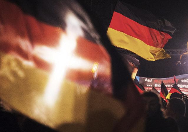 Drapeaux allemands