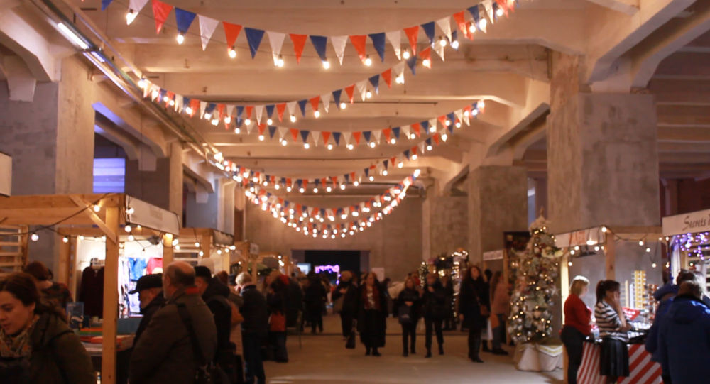 Bazar franco-belge à Moscou