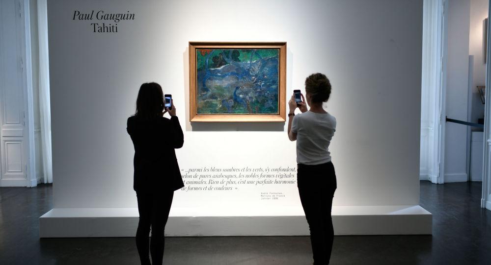 Te Bourao de Paul Gauguin