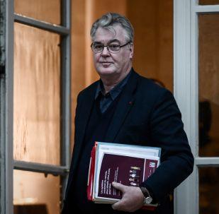 Jean-Paul Delevoye (Photo by Philippe LOPEZ / AFP)