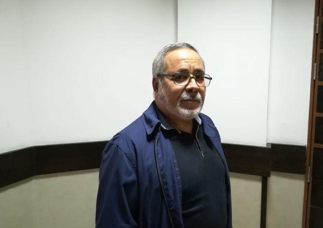Abdelaziz Medjahed, ex-chef d'état-major de l'Armée de terre algérienne