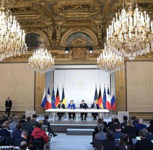 Le sommet au format Normandie, le 9 décembre 2019