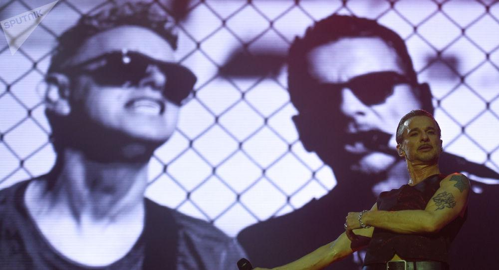 concert  de Depeche Mode à Moscou