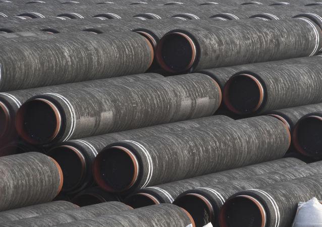 Construction de Nord Stream 2