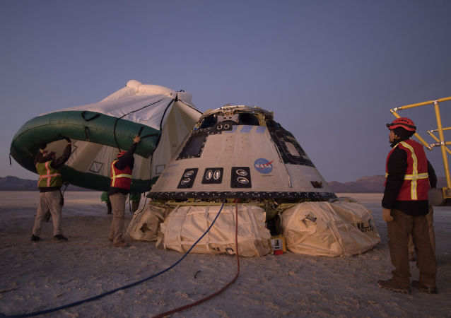 le véhicule spatial Starliner se pose au Nouveau-Mexique