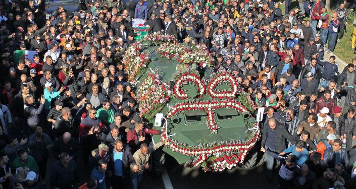 Les funérailles d'Ahmed Gaïd Salah