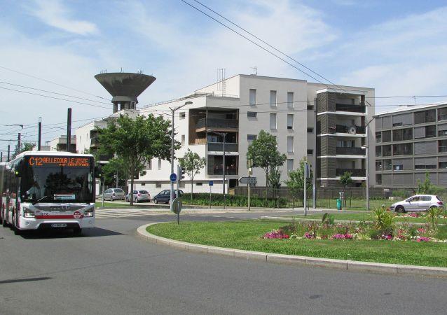 Le quartier de Monmousseau à Vénissieux