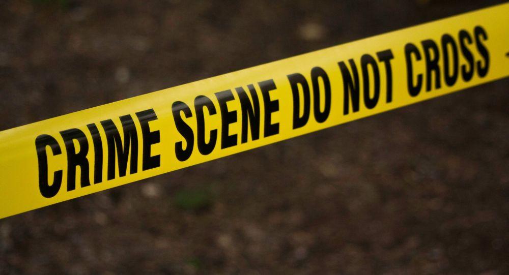 Bande de scène de crime de la police américaine
