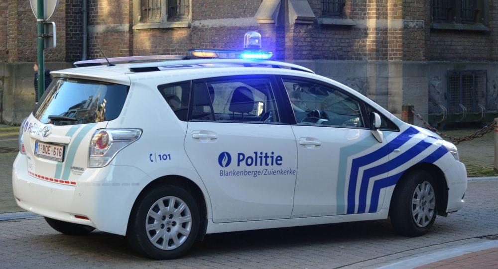 Une voiture de la police belge