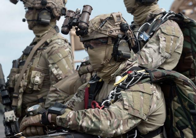 Membres des Forces spéciales françaises, le 13 juin 2019 à Pau