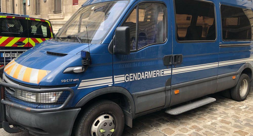 Une voiture de gendarmerie (image d'illustration)