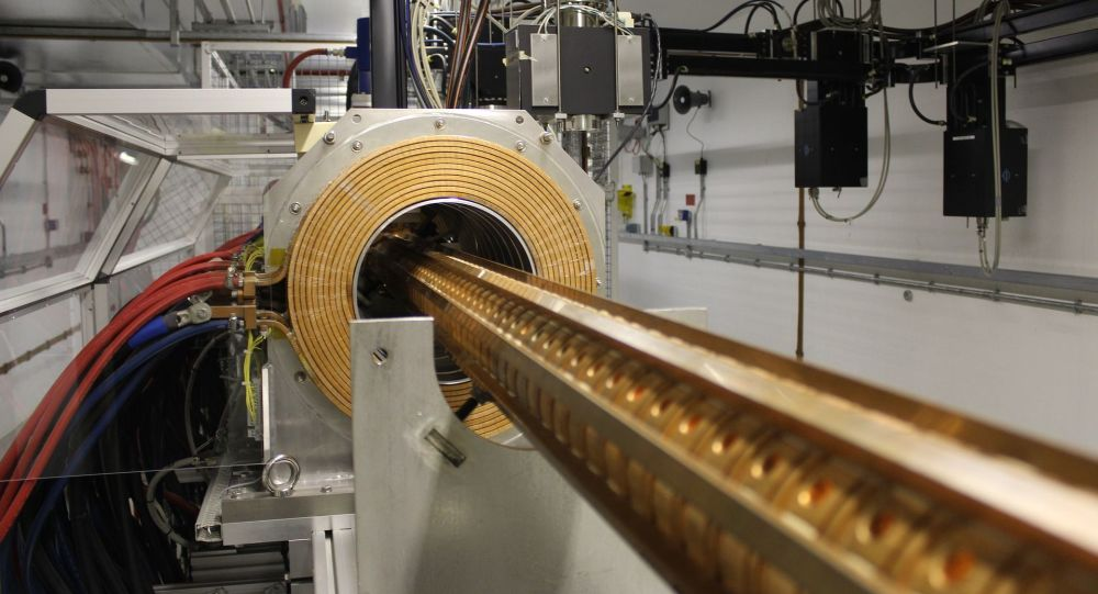 Accélérateur de particules (image d'illustration)