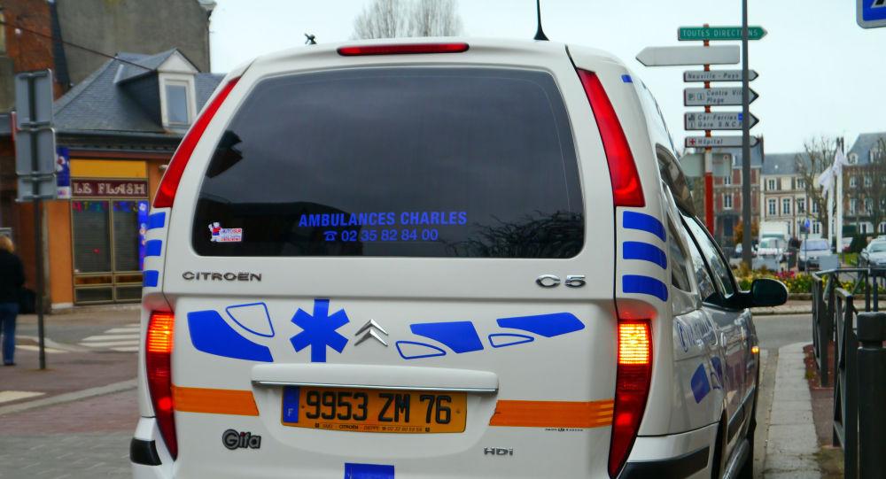 Une ambulance française