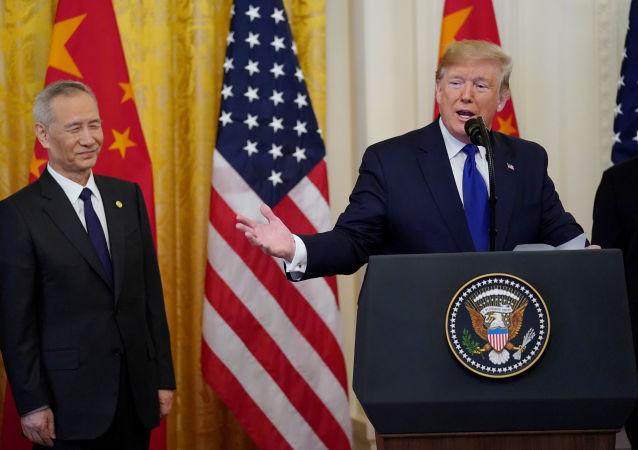 Donald Trump et Liu He