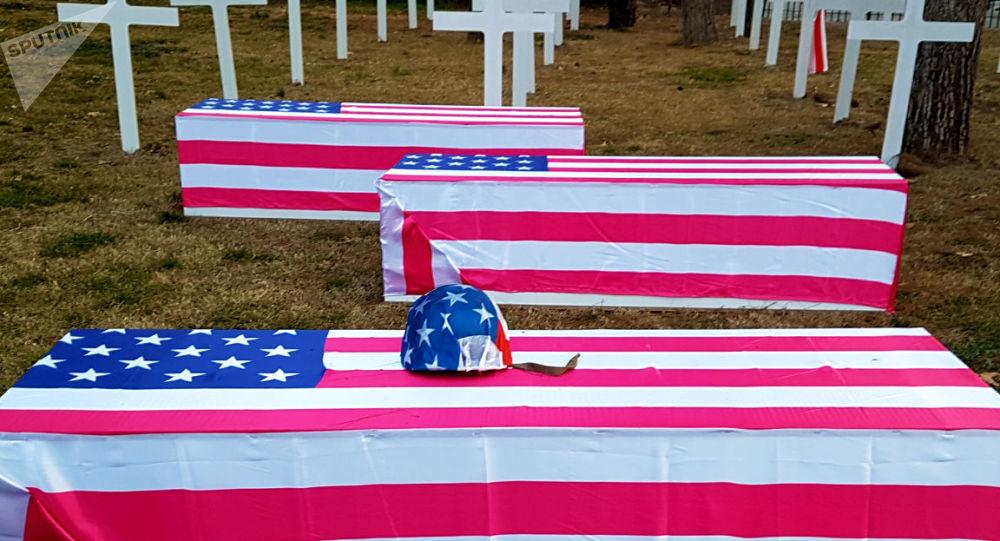 «Le cimetière de soldats américains» au musée «Nid de l'espion» à Téhéran