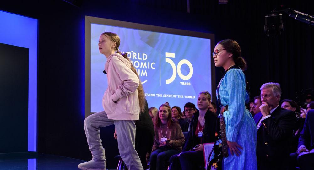 Donald Trump face à Greta Thunberg, ouverture en fanfare du 50e forum de Davos