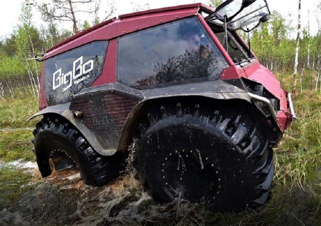 Un SUV amphibie BigBo