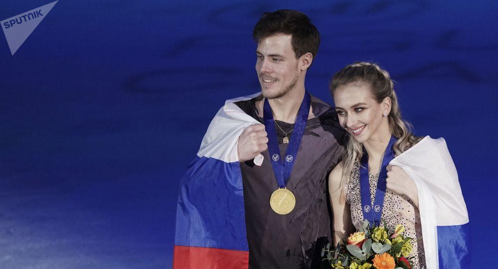 Victoria Sinitsina et Nikita Katsalapov