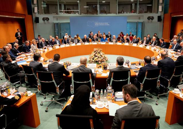 Conférence de Berlin sur la Libye