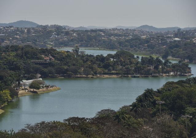 Le lac Pampulha de Belo Horizonte