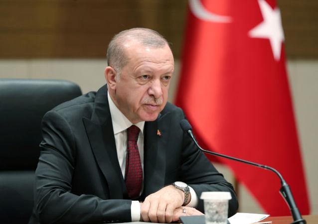 Recep Tayyip Erdogan, le 3 février