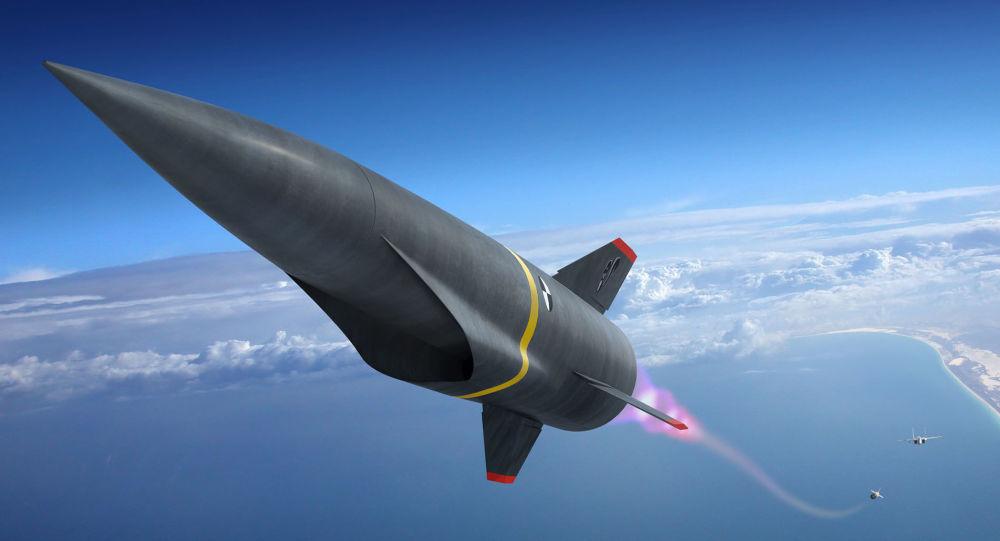 Lancement d'un missile hypersonique (conception d'artiste)