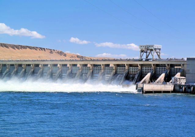 Un barrage, image d'illustration