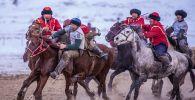 Compétitions de kok-boru au Kirghizistan
